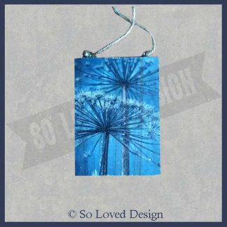 houtentekstbord bwerenklauw blauw copyright So Loved Design